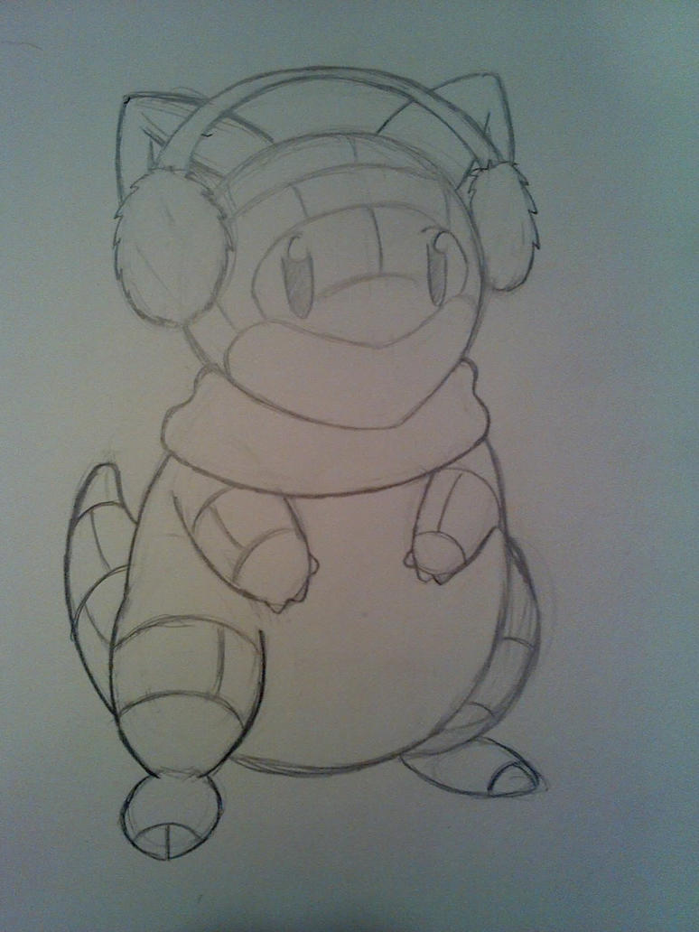 PokedeXY Day 11 (Late): Fave Ground - Sandshrew by HyperSonicFire15