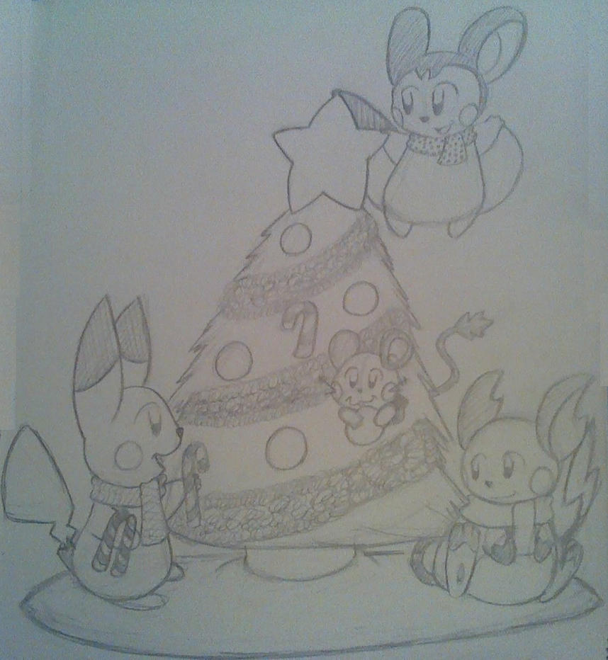 Xmas Chus (PokedeXY Day 20 - LATE) by HyperSonicFire15
