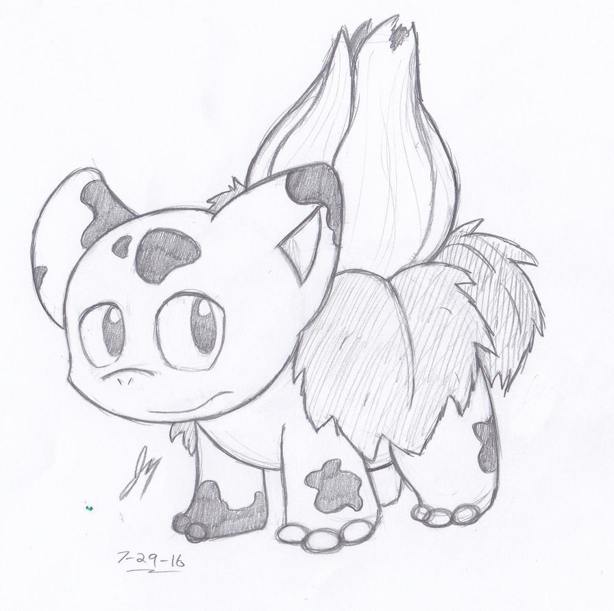 DTA: #002 Ivysaur by HyperSonicFire15