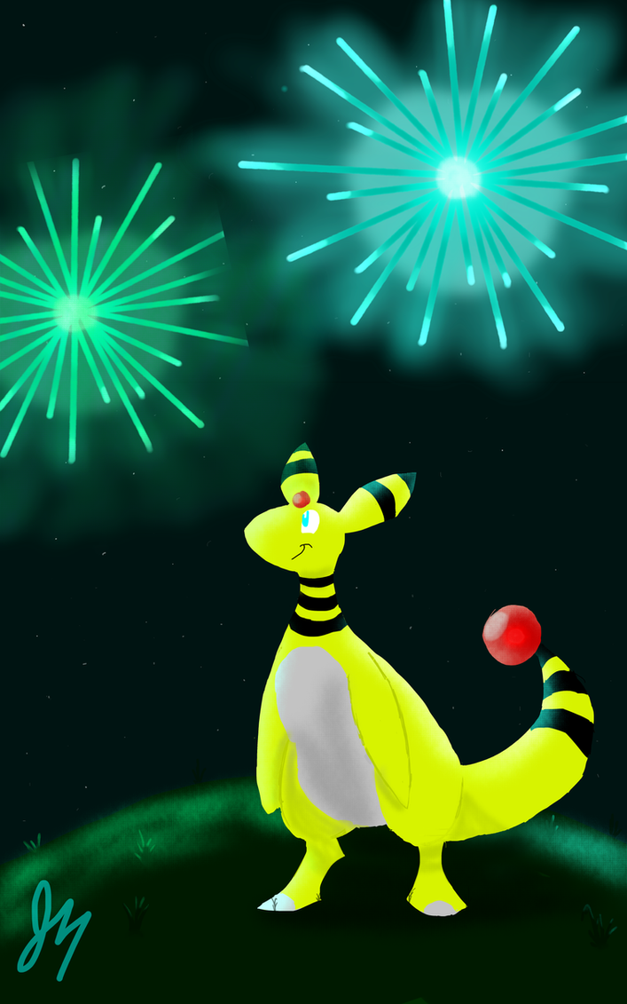 Pokecember 31: Favourite Overall: Ampharos by HyperSonicFire15
