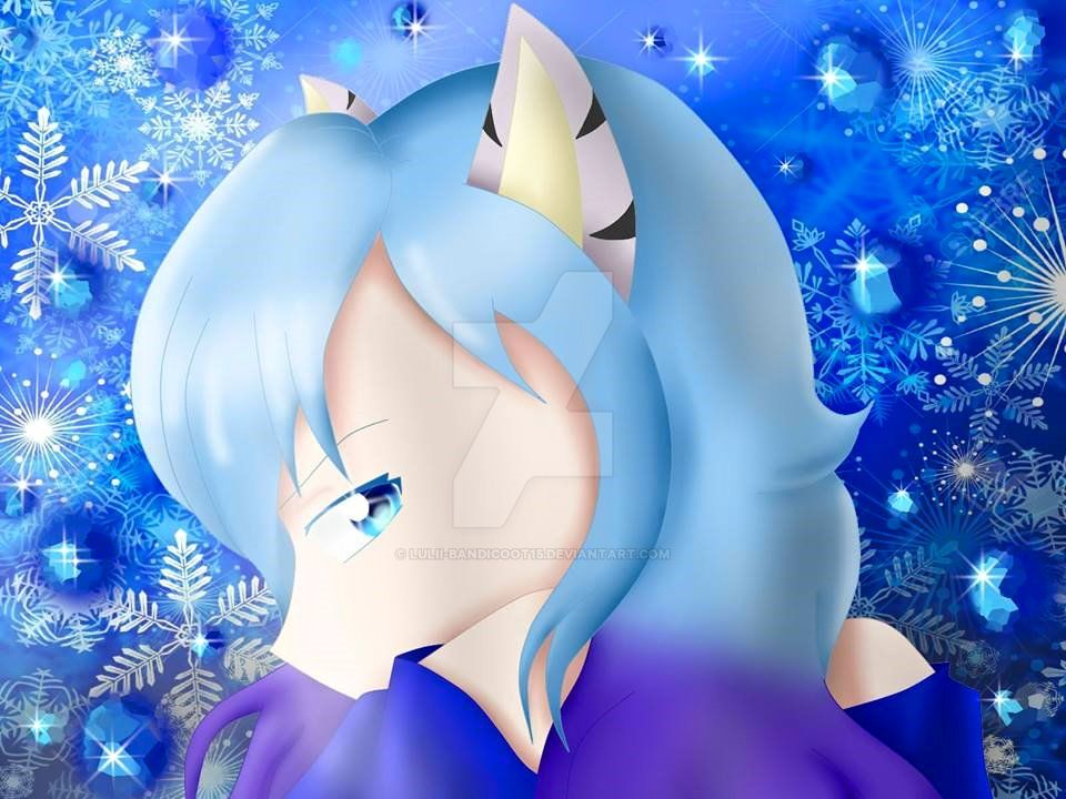 Ice_princess_warrior by Lulii-Bandicoot15