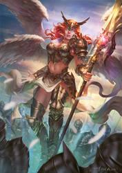 Goddess Befall by Bjiahao