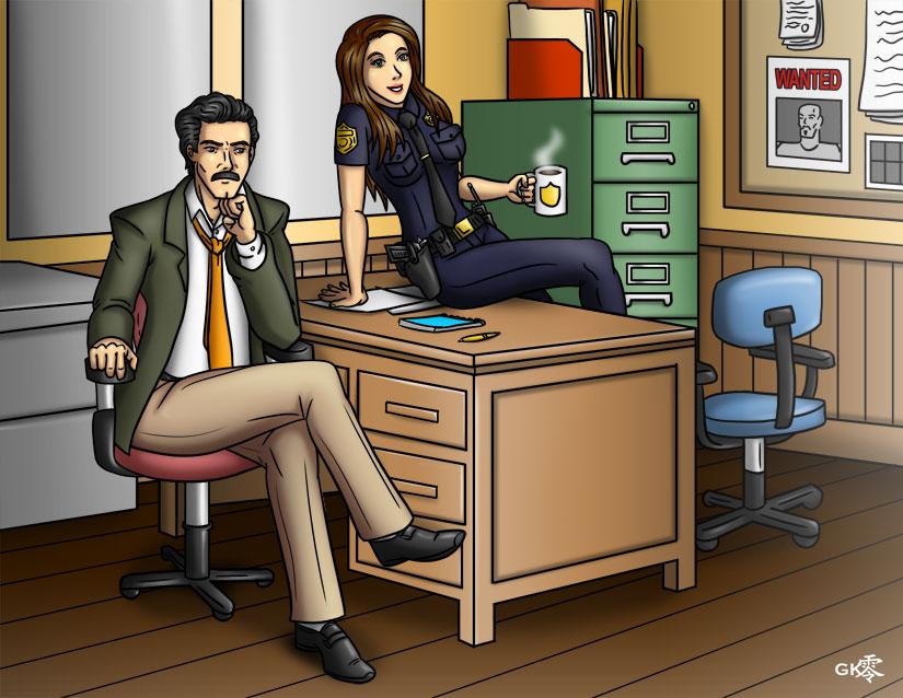 Buddy Cops by greytei