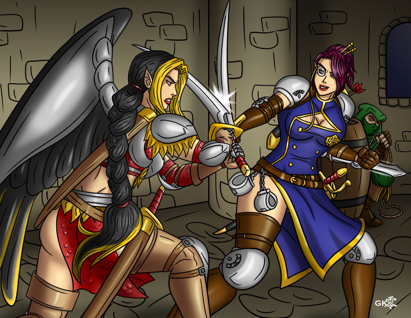 Duel by greytei