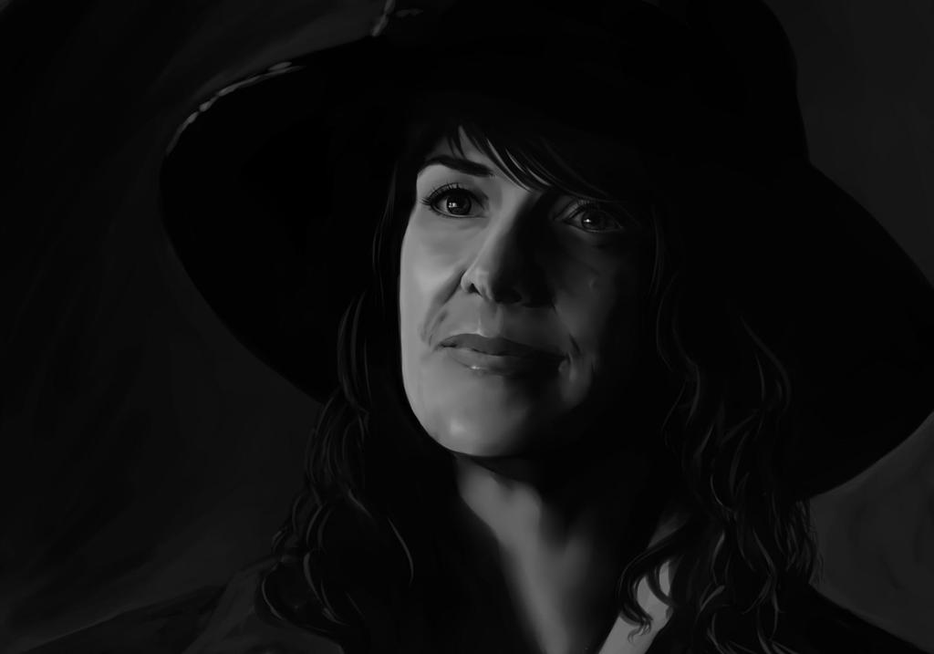 Dr. Helen Magnus by Alrynnas