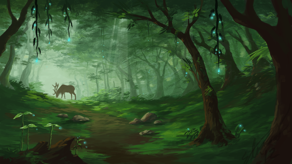Home In The Forest by Alrynnas on DeviantArt