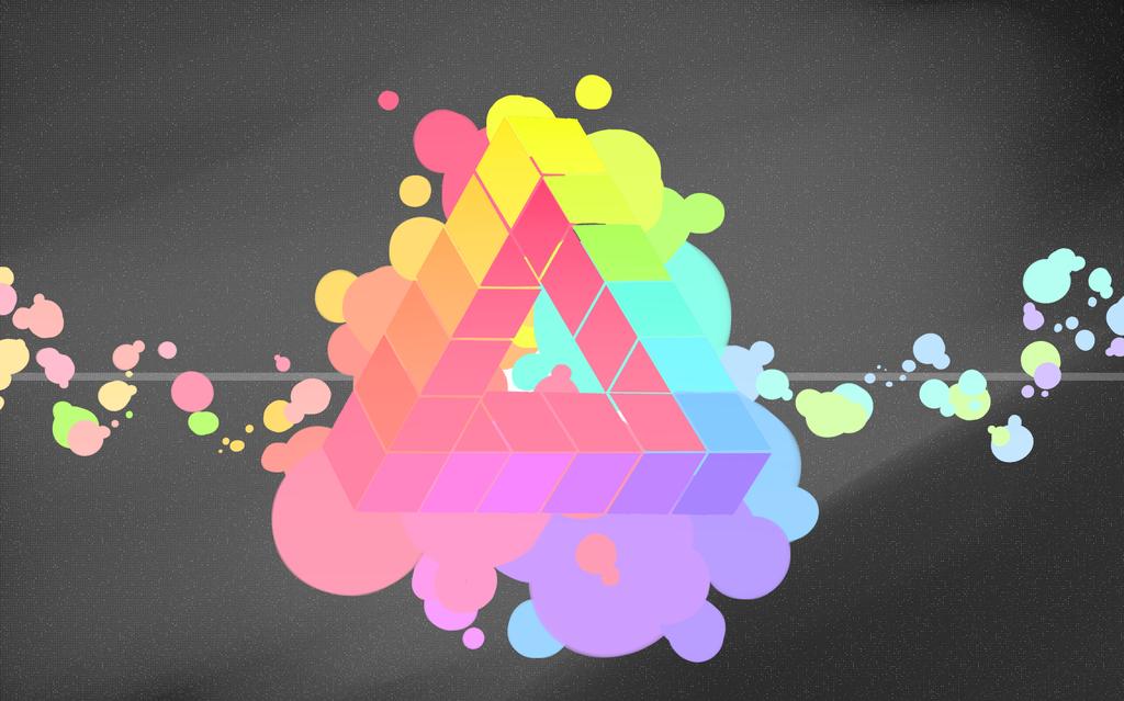 Penrose Triangle Design by sinjin25