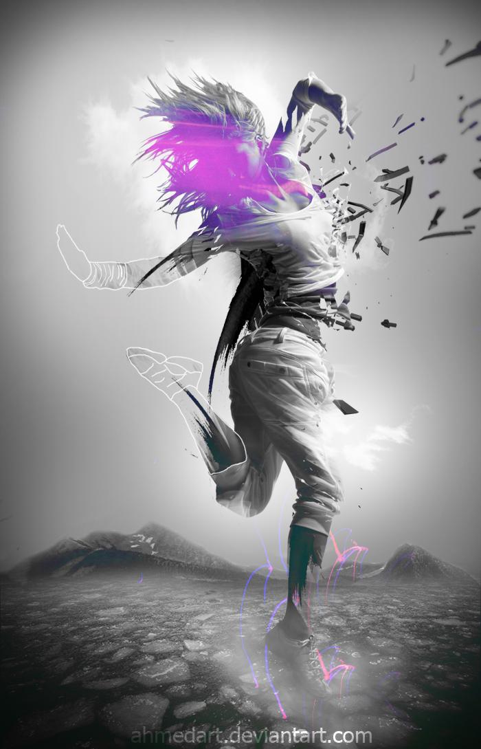 Violet symphony by AhmedART