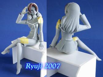 Misa Hayase WIP2 by celsoryuji