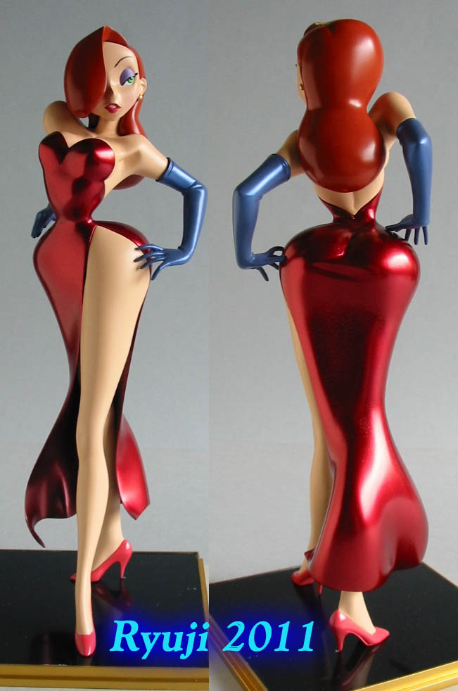 Jessica Rabbit wip22 by celsoryuji