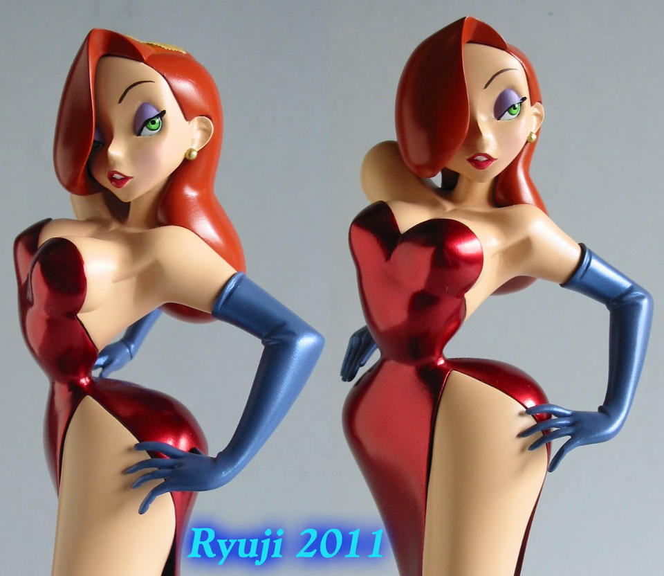 Jessica Rabbit wip23 by celsoryuji