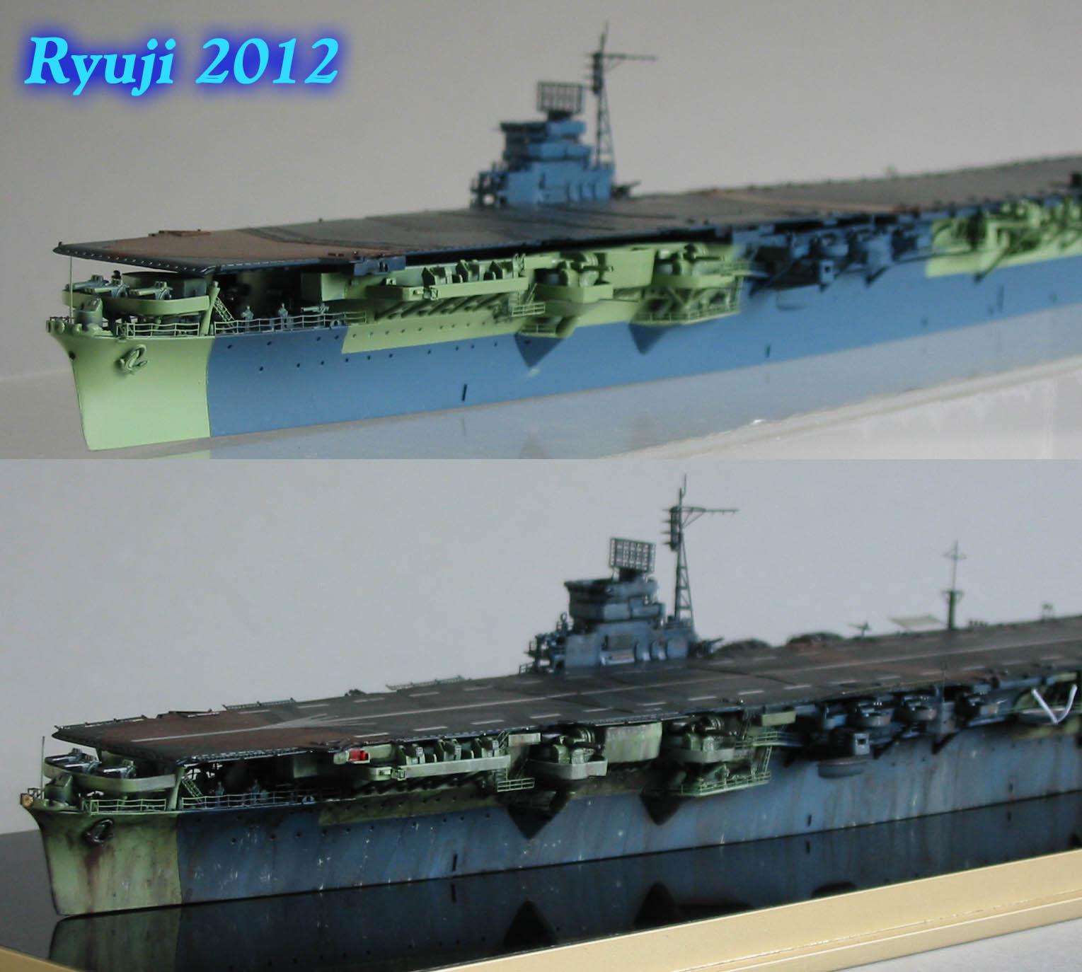 Fujimi 1/700 IJN Unryu wip15 by celsoryuji