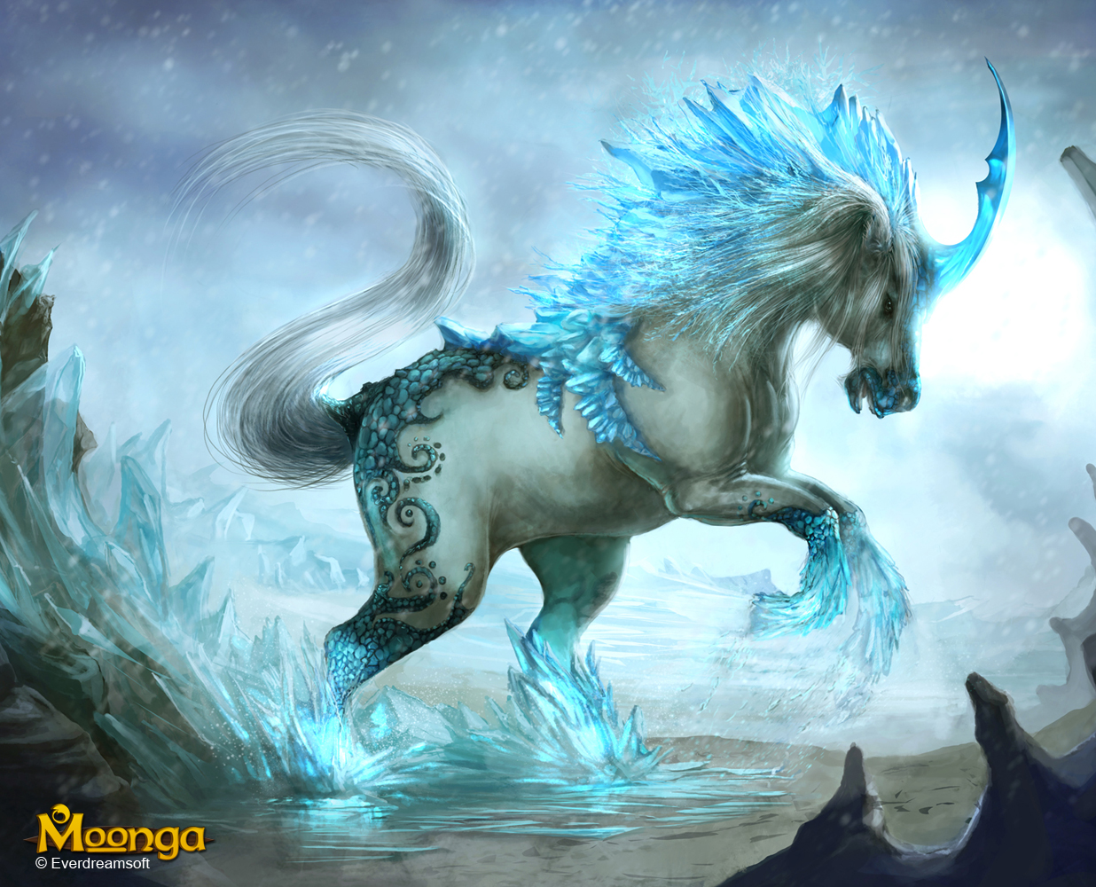 Unicorn, Creator of Ice by Na-V