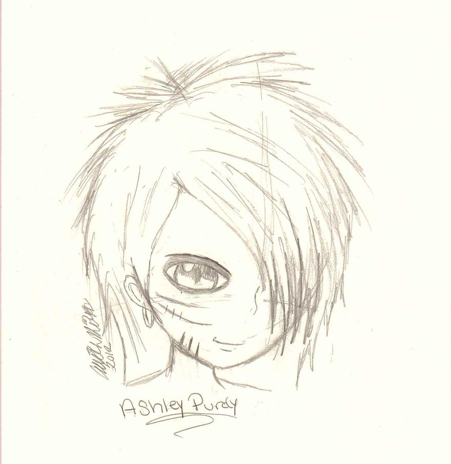 :Ashley Purdy: Portrait by Armywolfgirl043 on DeviantArt
