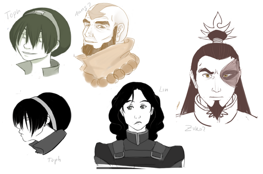 Avatar Doodles II by rare-thing