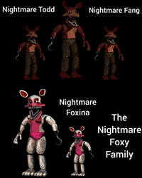 The Nightmare Foxy's Family