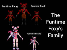 The Funtime Foxy Family