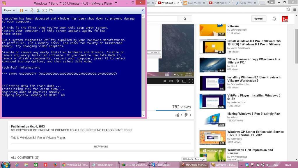 Windows 7 Build 7100 got BSOD! by Windowsi3DS on DeviantArt