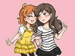 Kana and Shiho