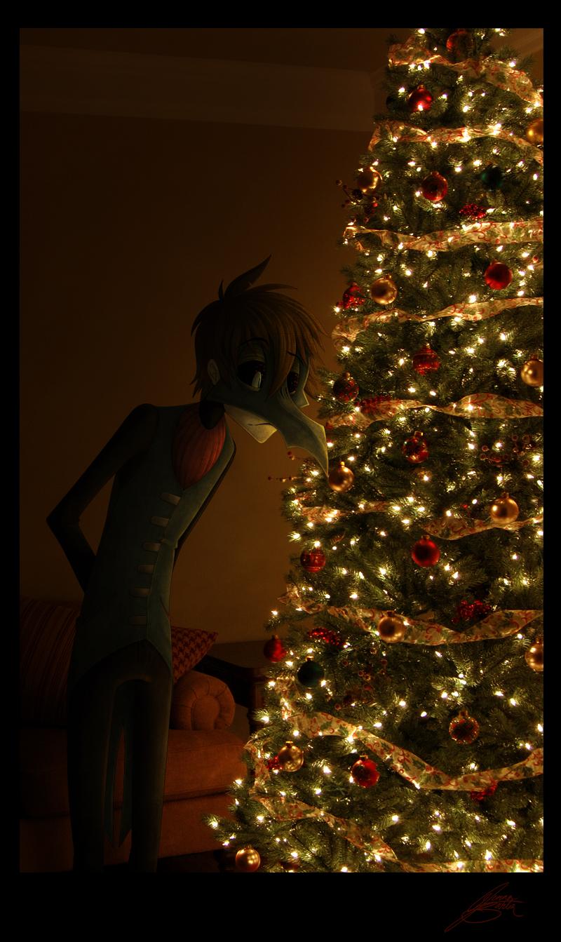 A Christmas Spirit by CalamityChemist