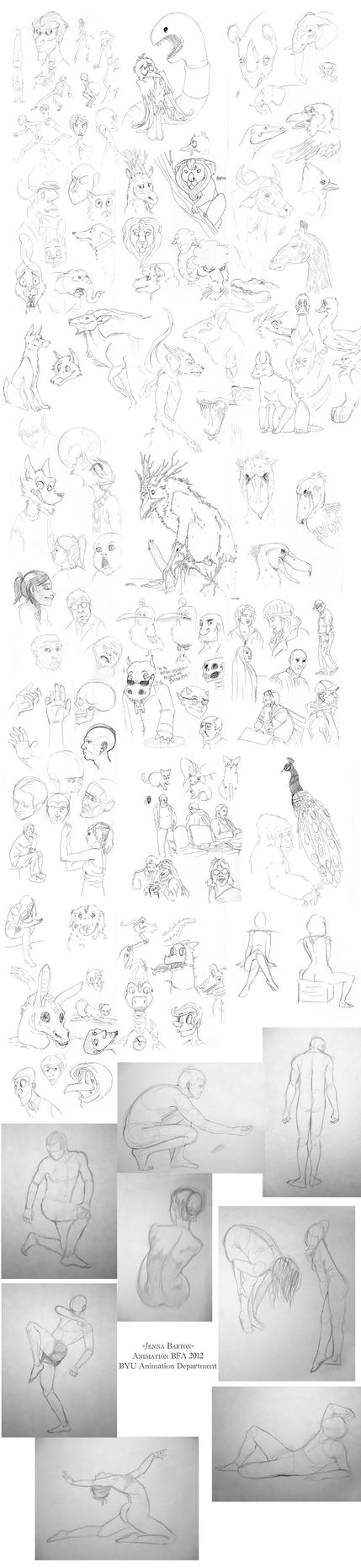 Sketchery (Animation 2012 Application portfolio) by CalamityChemist