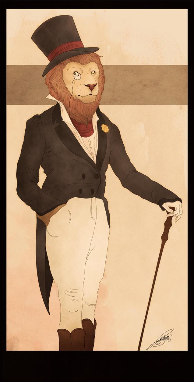 Dandy Lion by CalamityChemist