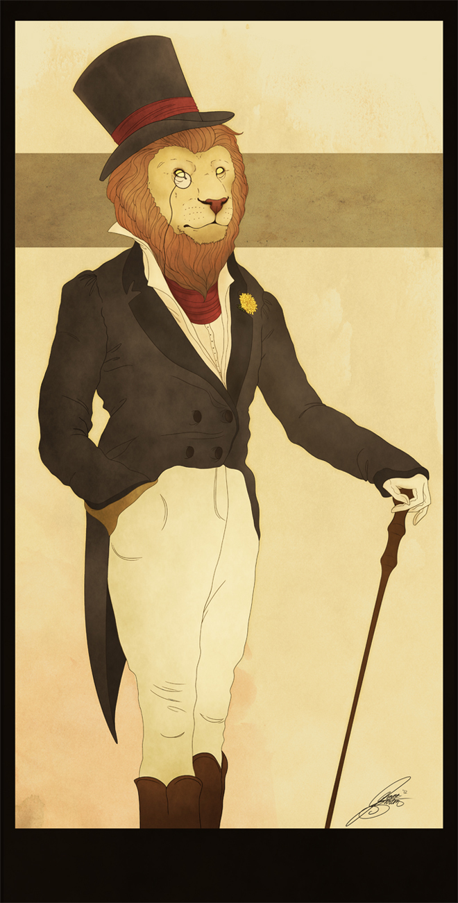Dandy Lion by CalamityChemist