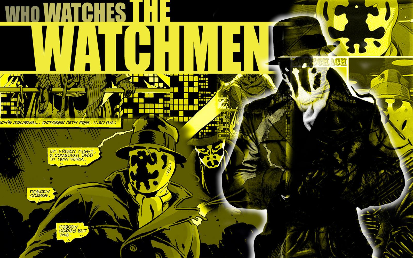 Rorschach wallpaper by ZackParkinson on