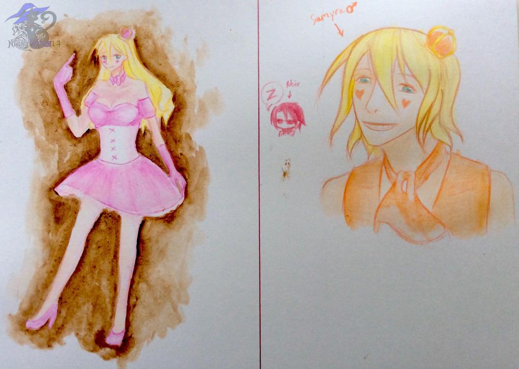 Draw Quest: Samyra + Samyro by NightWitch14
