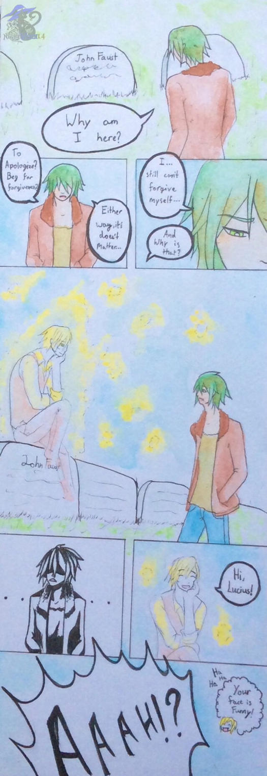A Page Comic - Finally Met by NightWitch14