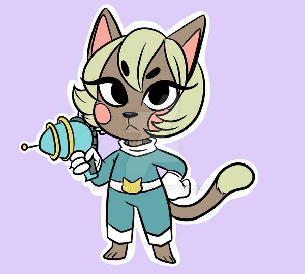 New Space Cat by RetroRag
