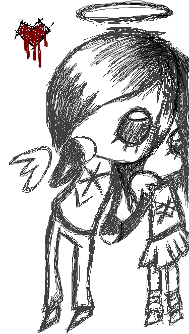 A small emo drawing 3 by xoisaycakeox on deviantart for Small art drawings