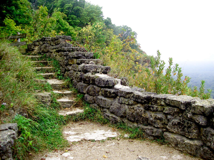 Stone Steps 1 by natureflowerstock