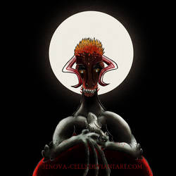 Dragon Ichigo by Jenova-Cells