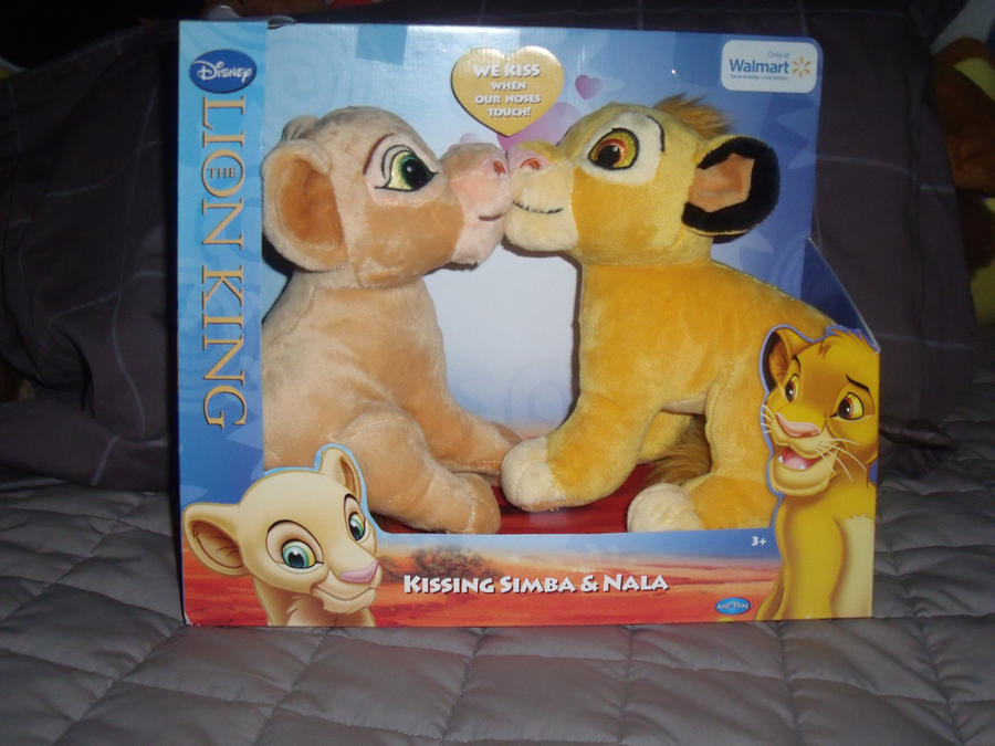Kissing Simba and Nala by gillian-r on deviantART