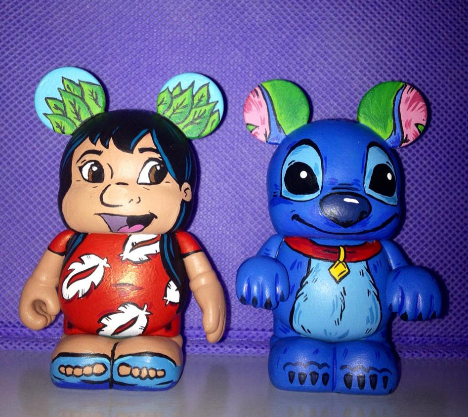 Lilo and stitch custom vinylmation by gillian r on deviantart for Lilo and stitch arts and crafts