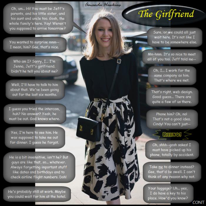 The Girlfriend By Amandahawkins71 On DeviantArt