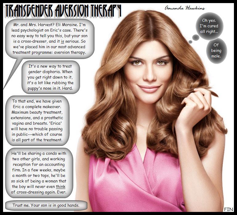 Transgender Aversion Therapy by amandahawkins71
