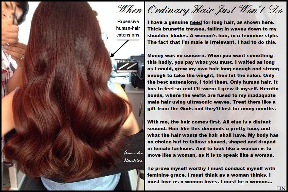 When Ordinary Hair Won't Do by amandahawkins71