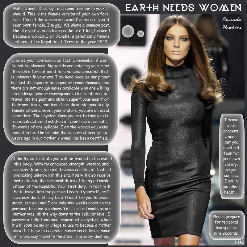 Earth Needs Women by amandahawkins71