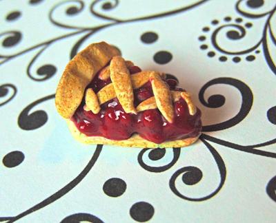 Cherry Pie Charm by SolarCrush