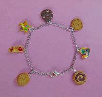Cookie Charm Bracelet by SolarCrush