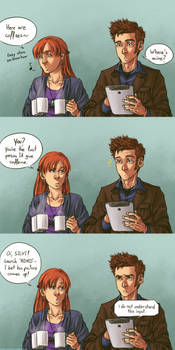 No coffee for Time Lords