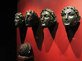 Roman Face Helmets