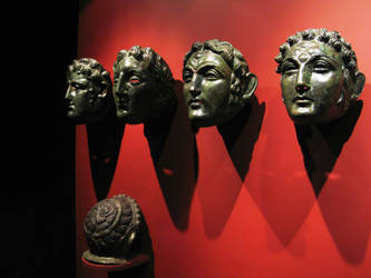 Roman Face Helmets by Ampata