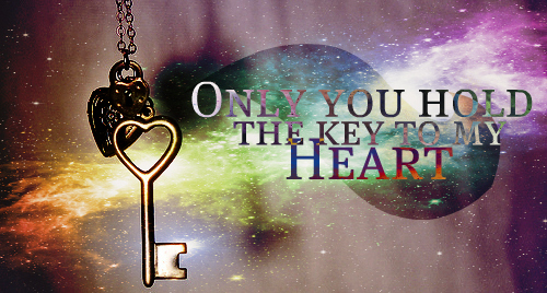 Only You Hold The Key ...