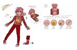 Kirby Gijinka Character Sheet