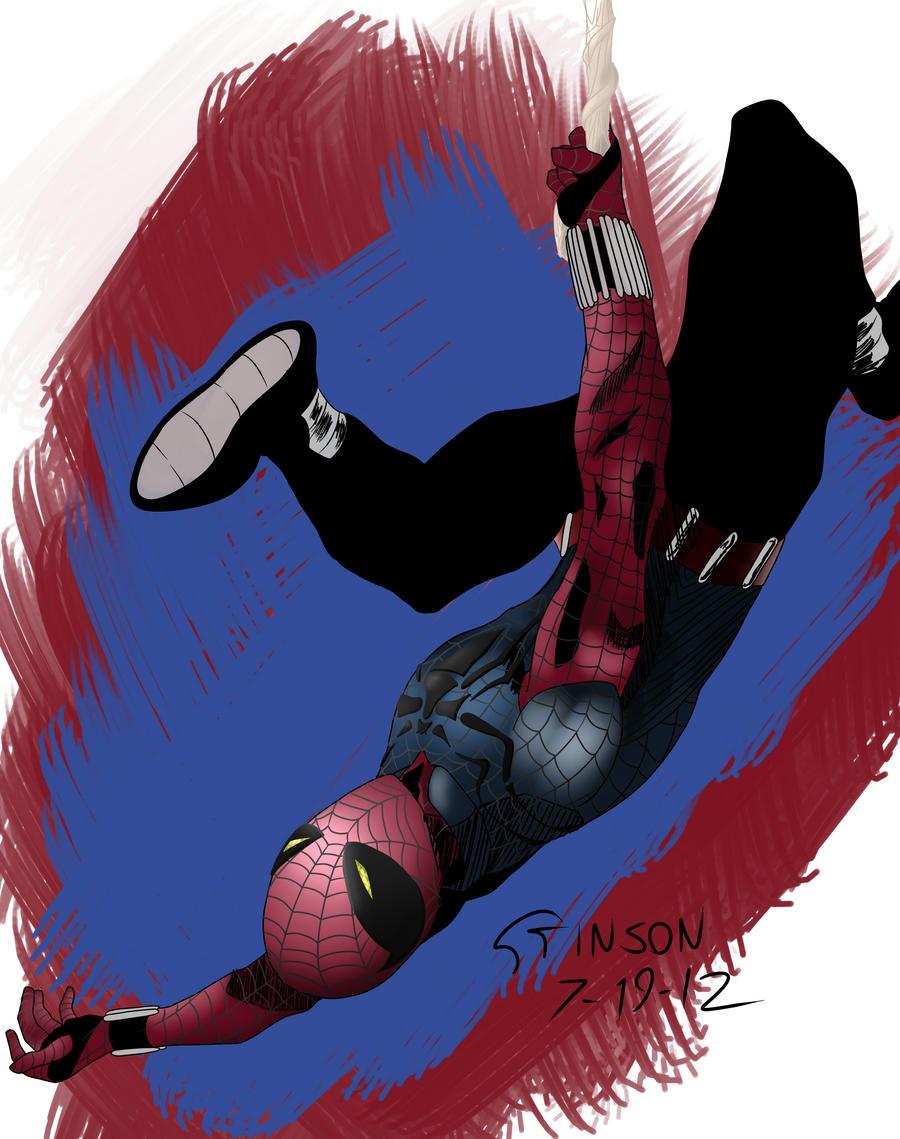 Scarlet Spider by stinson627