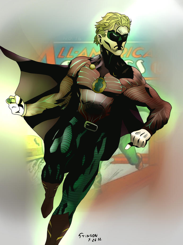 The Green Lantern by stinson627