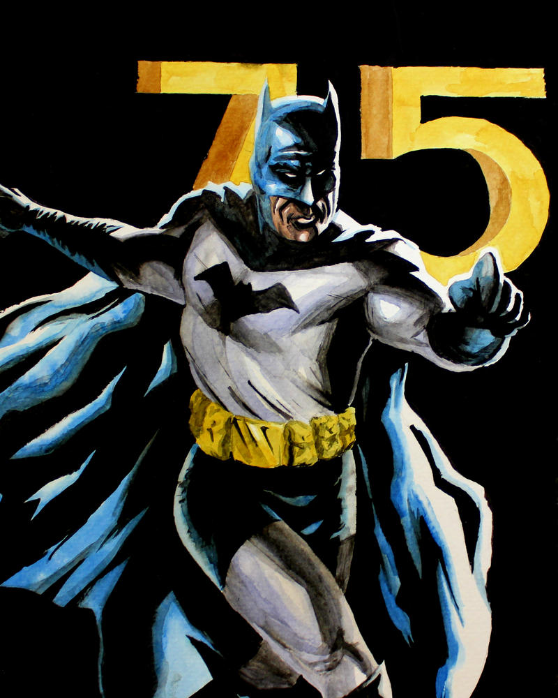 Batman 75 by stinson627